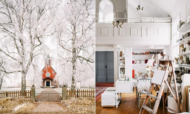 Kolla in det mest magiska vintage-kapellet vi sett