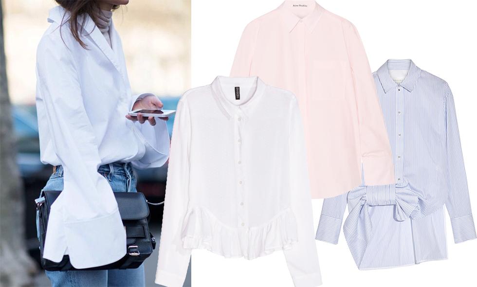 Krispiga skjortor att bära i vår – vi listar bästa köpen