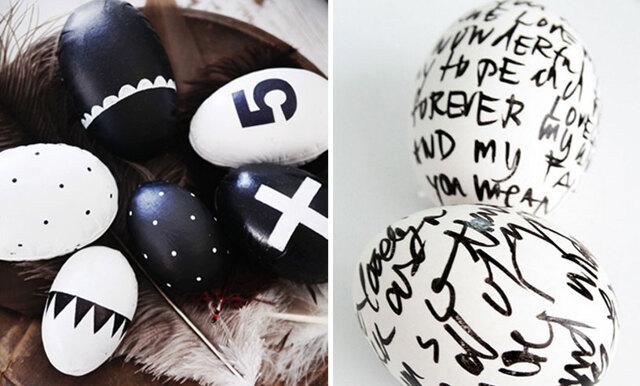 DIY - vackra påskägg att pryda ditt hem med i påsk