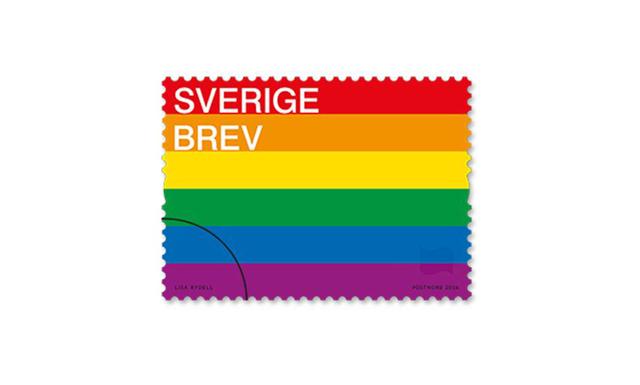 Heja PostNord! – Nu blir Prideflaggan ett frimärke
