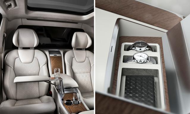 WOW! 10 bilder inifrån Volvos lyxigaste bil någonsin