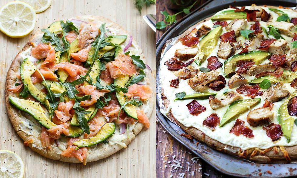3 supergoda recept på avokadopizza