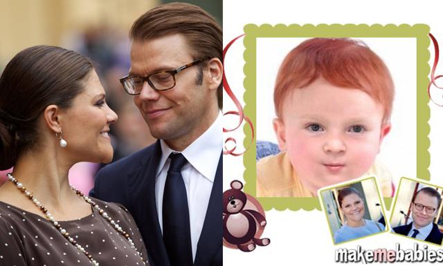 En mix av Victoria och Daniel: Så här kan prins Oscar se ut!