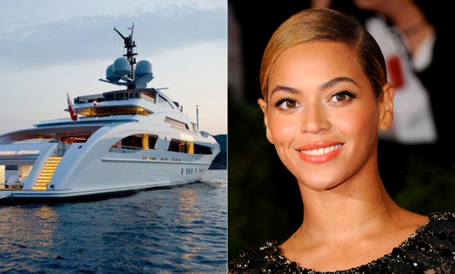 Hyr Beyoncé och Jay-Z's drömyacht – om du har råd