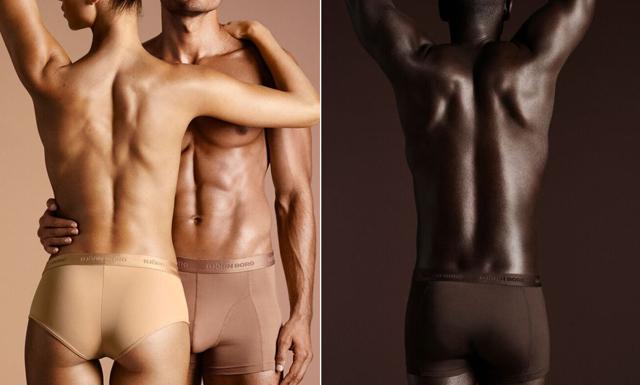 Heja Björn Borg som lanserar underkläder för alla hudfärger