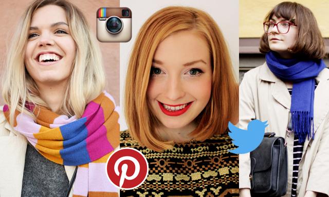 Här hittar du Metro Modes creativebloggare i sociala medier