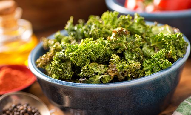 Fannie Redman tipsar om bästa helgmyset – Grönkålschips!