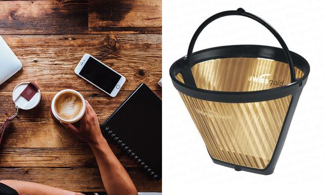 Släng dina kaffefilter – de ska ersättas med guld