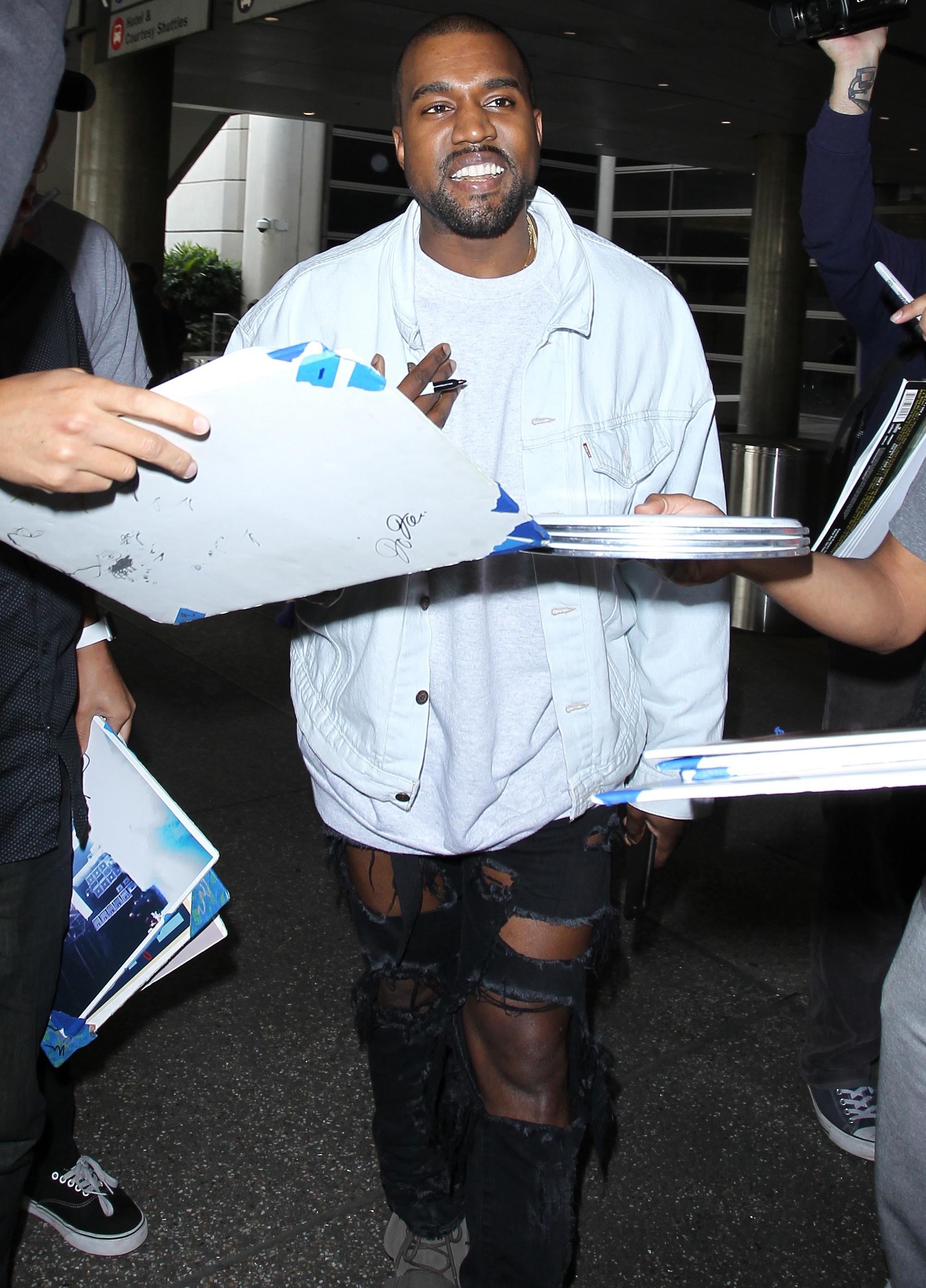 Kanye West ikea almhult