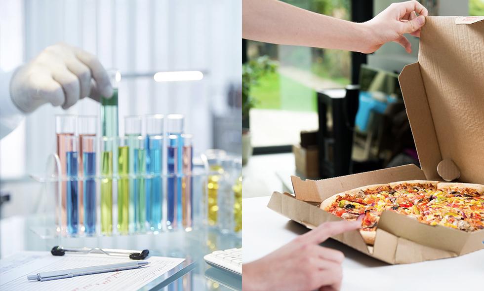 kemikalier gift pizza soffa plast