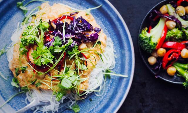 Lättlagad vegansk middag - galet gott till vardag och fest