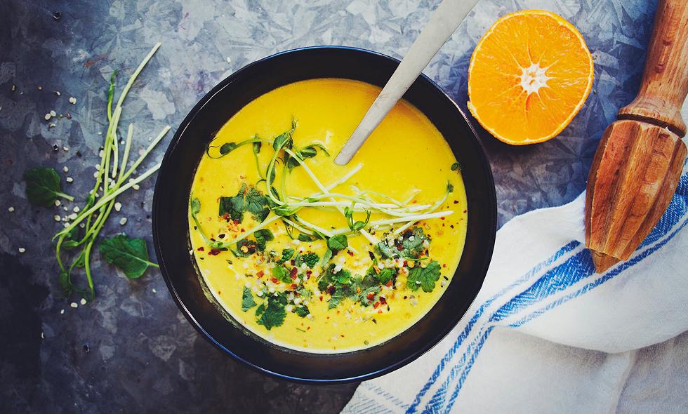 puff hanna goransson hur bra som helst recept soppa morot citrongräs paprika