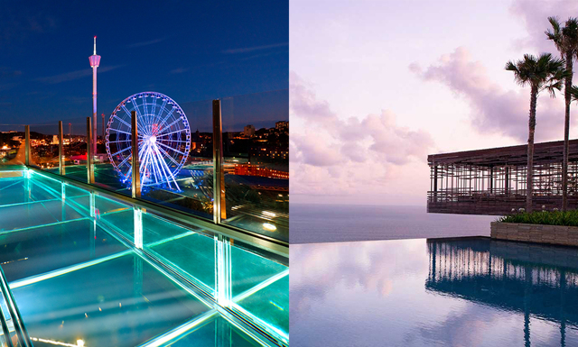 Världens häftigaste pooler – skulle du vilja eller ens våga dyka ner i dessa?