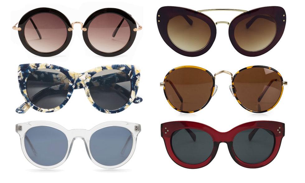 Trendigaste solglasögonen för våren och sommaren 2016
