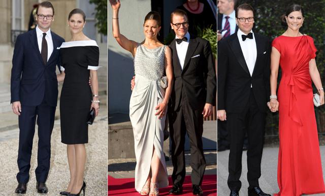 Victoria och Daniels stilresa – vi listar favorit-outfits genom åren