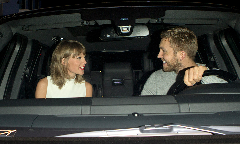 taylor swift calvin harris 1 ar present hollywood