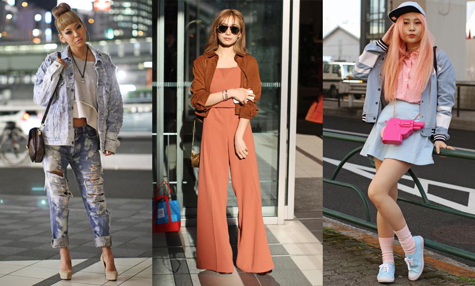 14 häftiga streetstyle-outfits från Tokyo Fashion Week 2016