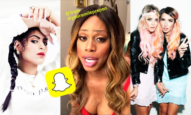 Creative listar 11 konton alla borde följa på Snapchat
