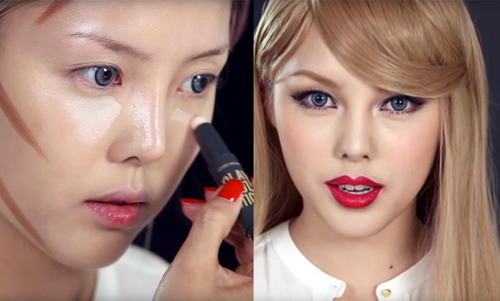Koreanska-tjej-omvandlar-sig-till-taylor-swift
