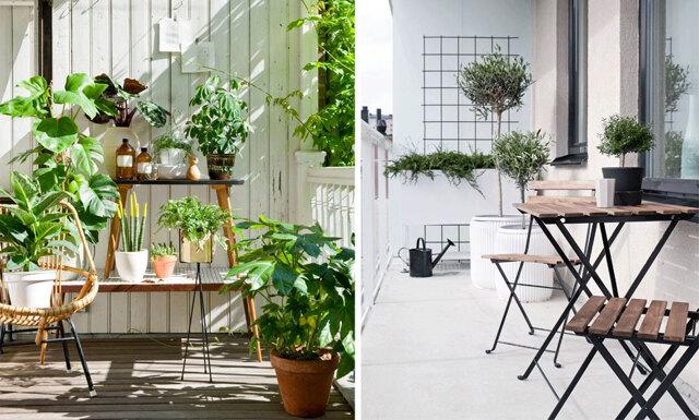Tjuvstarta våren på balkongen – 5 stilar att inspireras av