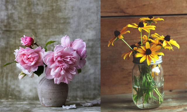 Få dina blommor att hålla längre med den här oväntade ingrediensen