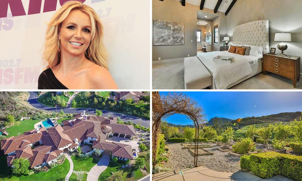 Kolla in Britney Spears fantastiska jättevilla i LA