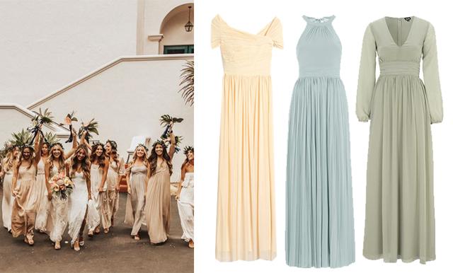 15 vackra brudtärneklänningar som fixar sommarens bröllop