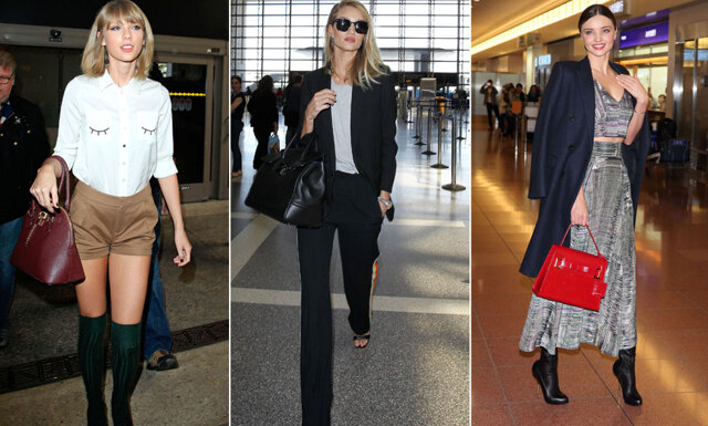 Så håller sig kändisarna fräscha på planet – 12 inspirerande outfits