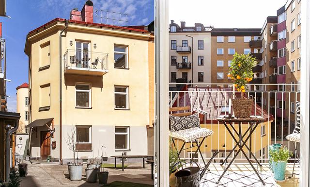 Drömmigt femvåningshus mitt i stan med allt du behöver