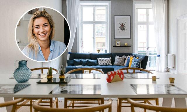 Hemma hos Michaela Forni – ett hem där trender och förvaring står i fokus