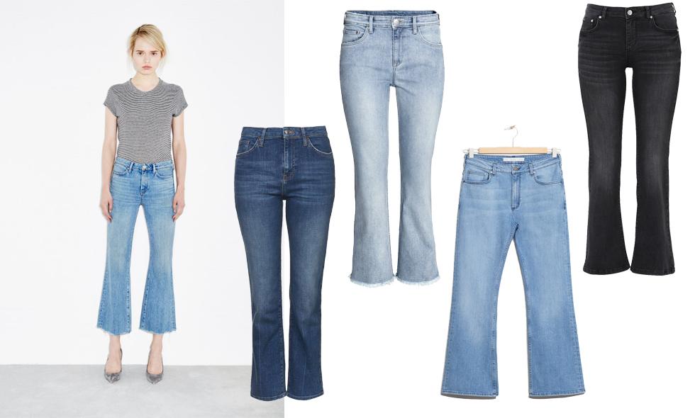 Vårens trendigaste jeans 2016 – Kick flares