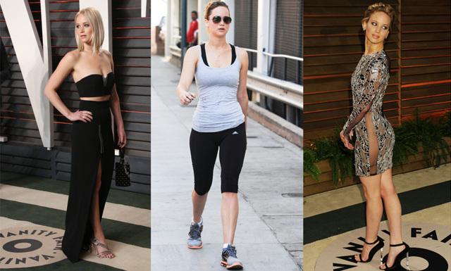 Så äter och tränar du som Jennifer Lawrence