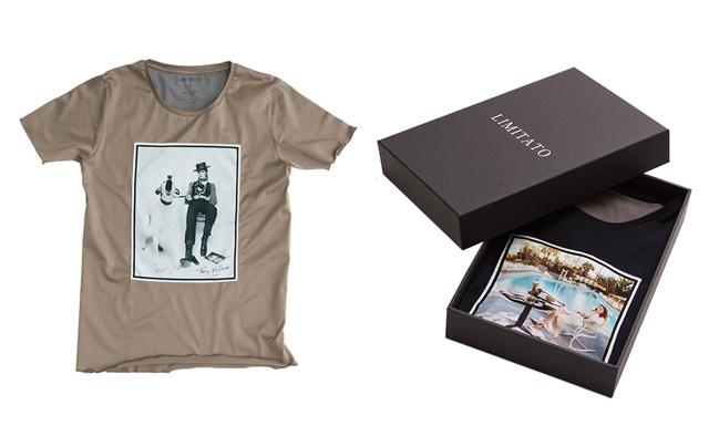 Svenska modemärket skapar t-shirts med världsberömda tryck