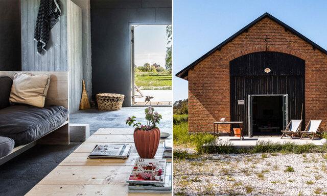 En industriell inredningsdröm på gotländska landsbygden