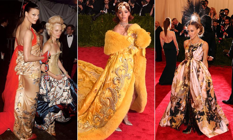28 av de bästa och mest minnesvärda klänningarna från Met-galan genom åren