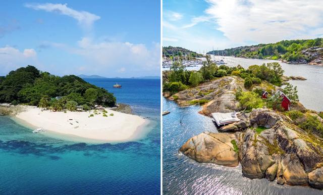 Lyxa till det på semester – Hyr en privat ö!