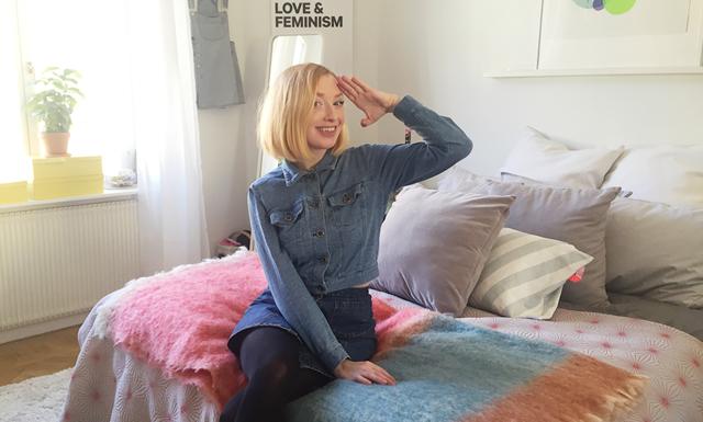 WEBB-TV: 16 snabba med kreatören Sandra Beijer