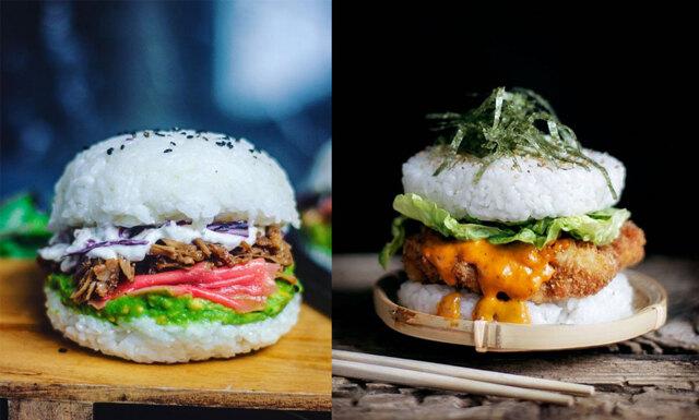 Sushi + hamburgare – det här måste vi verkligen testa