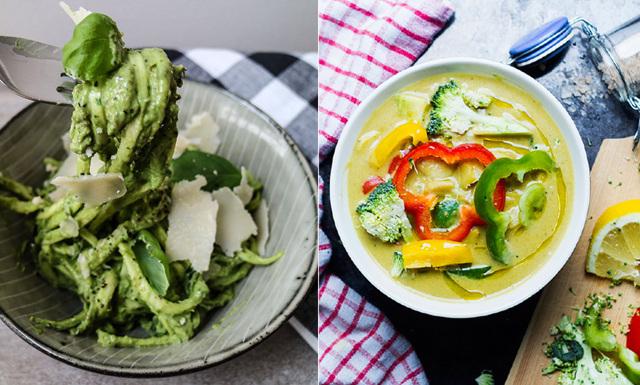 Veckans meny med hälsosamma och goda middagsrecept