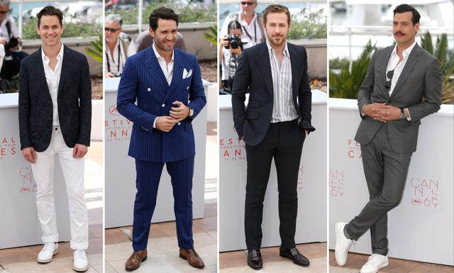 Bäst klädda männen på filmfestivalen i Cannes
