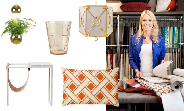 Maxade mönster och färg – Här är Andrea Brodins inredningsfavoriter