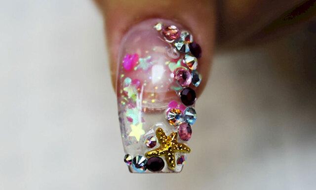 Den senaste nageltrenden – Akvarium naglar