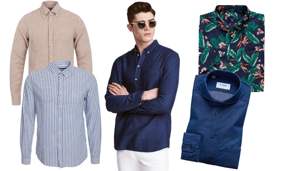 10 snygga skjortor för sommaren 2016