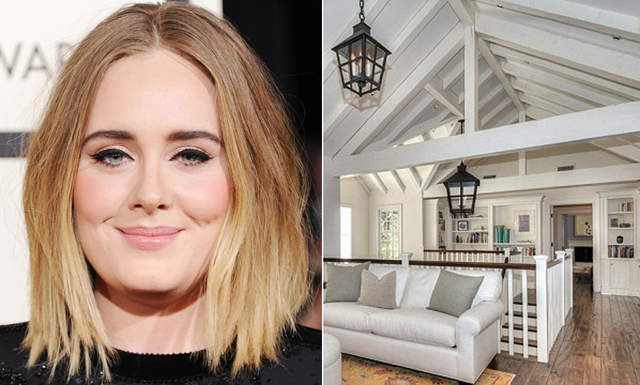 Kolla in i Adeles nya lyxvilla i Beverly Hills finaste kvarter