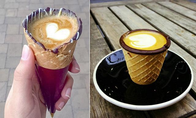 Glöm glassen – nu är det kaffe i strut som gäller!