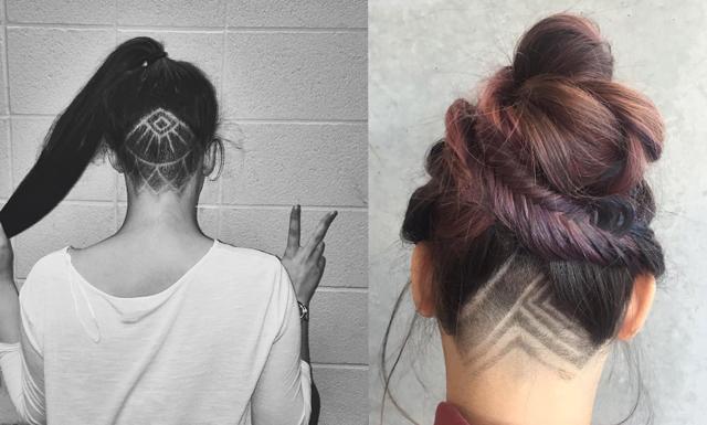 Senaste hårtrenden – Undercut tattoos