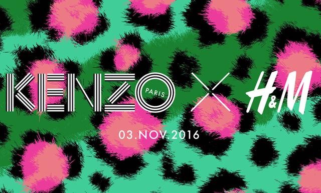 Kenzo är H&Ms nya designsamarbete hösten 2016