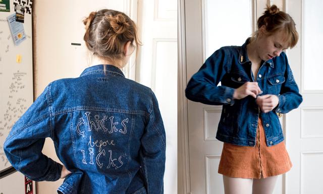 Så här enkelt pimpar du din jeansjacka