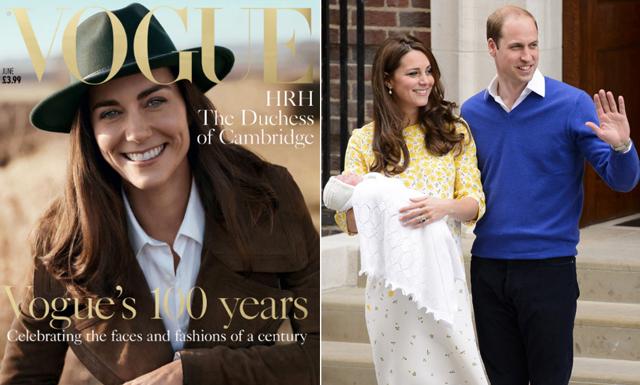 Vogue fyller 100 år och firar med hertiginnan Kate Middleton på omslaget