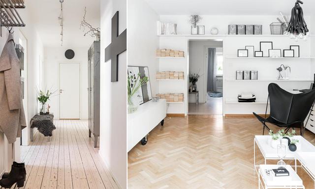 Jönköpings finaste lägenhet – smakfullt renoverad tvåa med vackra trägolv
